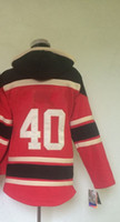 Free Shipping #40 Henrik Zette Red Pullover 2014 Hockey Jers...