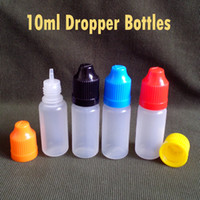Plastic plastic bottles - Plastic Bottle ml E Liquids Bottles for Eye Drops Essential Oil With Childproof Caps And Long Tips Factory