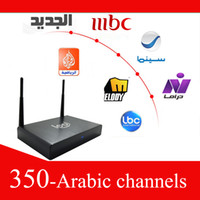 Wholesale Arabic IPTV Arabic tv box HD arabic channels more than chanenls free watching two years loolbox