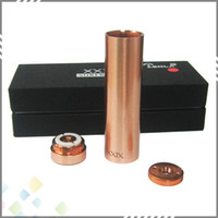 red plates - Best Clone XXIX Mod Copper Plated Copper Pin with thread fit for battery Tesla XXIX Mod Red Copper DHL Free