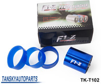 air intake pipes - Blue Cold Air Intake Turbo Fan Supercharge Filter Induction Pipe Kit Universal TK T102 Have In stock