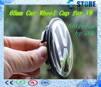 Wholesale SHIPPING mm Wheel Center Cover Hub Cap D badge car badges emblem FOR VW J