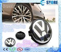 Wholesale mm Car Wheel Cover Badge wheel Hub VW Center Cap Emblem For VW TOUARET J