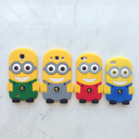 Wholesale - 3D Despicable Me Cartoon Soft Silicone Gel Rubbe...