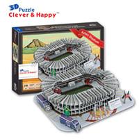 Wholesale clever happy Paper D Puzzle Model Mexico Estadio Azteca Aztec Stadium Tour Travel Souvenir