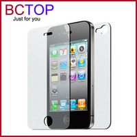 For Apple iPhone apple cleaning cloth - Full Body Front And Back LCD Screen Protector Film For Apple iphone S G Protection Guard With Cleaning Cloth