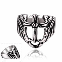 Wholesale new arrive R02 Stylish fashion Horror Skull men women face noble jewelry various styles L stainless steel punk ring