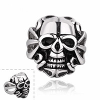 Band Rings best new punk - R003 Stylish price Skull jewelry men women retro best gift various styles L stainless steel punk ring new arrive