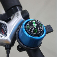bicycle bell ring - 6 Color you can choose mm Small Mini Bike Cycling Bicycle Ring Metal Aluminium Bell Compass Ball