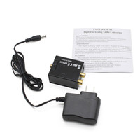 Wholesale Fashion Black Digital To Analog Audio Converter With Power Adapter Hot Selling