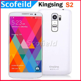 Wholesale 5 quot IPS MTK6582 Quad Core Kingsing S2 Android Cell Phone Smartphone G G Android