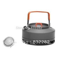 aluminium tea pot - Fire Maple Outdoor Camping Picnic Cookware Heat Exchanger Kettle Aluminium Tea Pot L FMC XT1