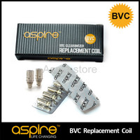 1.6 ohm & 1.8 ohm CE/RoHS Bottom Vertical Coil Newest Genuine Electronic Cigarette 1.6 ohms 1.8ohms Aspire BVC Coil For Aspire CE5 S ET S Atomizer Replacement Aspire Bottom BVC Coil Head