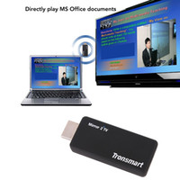 Wholesale Tronsmart T1000 Ezcast Miracast Dongle TV Stick Smart Android TV Dongle Mirror2TV Wireless Display DLNA Media Player Receive
