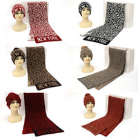 Wholesale 2014 fashion warm knitted couples suite hat and scarf scarves shawl