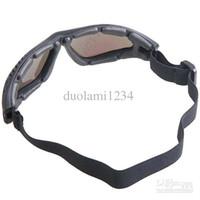 Wholesale Foam Gasket Versatile Goggles Eyeglasses Eyewear with Elastic Headband Colorful Reflective Lens Black Frame free shiping