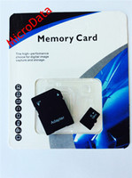 Memory Card TF / Micro SD Card 128GB 128GB Micro SD Card Class 10 Memory Card 128 GB Flash Micro SD SDHC TF Cards Adapter Retail Package microdata Free DHL