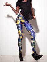 Lycra Mid Fashion Aquarium Leggings fitness women fashion leggings 2013 New shiny Leggings Sea Fish LEGGINGS OEM Digital Print Pants K135