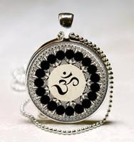 Pendant Necklaces om pendant - Om Necklace Yoga Jewelry Om Symbol Buddhism Zen Meditation Mandala Art Pendant