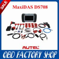 Wholesale Promotion Original Autel Maxidas DS708 DS full set free update year warranty Diagnostic Scanner support US EU Asia cars