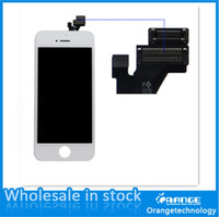 Cheap hot sale mobile phone lcd replacement for iphone 5 brand new two colors available