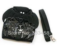 batman dog collar - Batman Sequin Cool Pet dog doggie breathabel harness leash protect doogie s body S M L pets collars dog leads