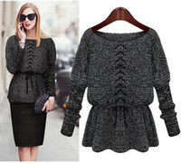 Women jumpers - Fashion Autumn Winter Women Pullover Knitted Sweater Loose Sweater Jumper