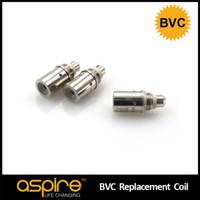 2.0ml Metal aspire Wholesale Electronic Cigarette Accessories 100% Original Newest Aspire Coil BVC Dual Core Atomizer Heating Wire Ropes E Cig Wire Coil Hot