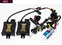 achat en gros de xenon hid kits de phares h7-55W Xenon HID Phare Kits H1 H7 4300K 6000k 8000k 10000k voiture Ampoules LED Conversion / croisement halogènes Livraison gratuite