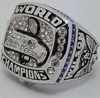 Wholesale HOT selling fashion XLVIII Super Bowl Football Championship Ring Player Best Fan Gift Men Jewelry