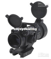 Wholesale perfect Red Dot Scope Sigh Laser t Rifle Reflex telescope with gun mount free shiping