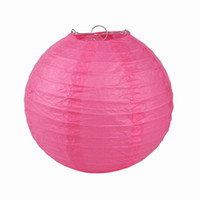 Lantern Holiday  Rose Red Handmade Chinese Paper Lanterns For Wedding Party Halloween Christmas Decoration Size Choose ZWZ7*10