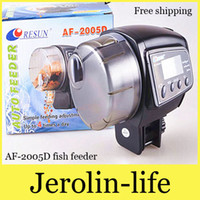 Wholesale AF D LCD Timer Automatic Auto Aquarium Fish Tank Food Feeder Automatic Feeder AF D