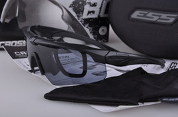 Wholesale High quality ESS Crossbow Outdoor Sports Army Bullet proof goggles sunglasses eyewear lens original retail box