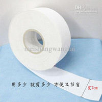 Wax   Wholesale - Wax Paper Hair Removal Depilatory Strips For Depilation Wax And Strips 100M Per Roll Paper Depilatory Removal Of Hair Depilator