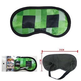 Wholesale My world Minecraft goggles coolie fear animation around Sleep Masks TT39035944572 H