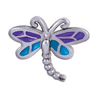 Wholesale New design dragonfly origami owl charms floating charms fit origami owl glass living locket