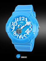 Wholesale blue good with box gift led Unisex Silicone Jelly Candy Fashion Children s Quartz Lady s watch luxury Men s wristwatch Women s Watches