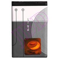 al por mayor 4c de la batería bl-BL-4C BL4C Batería para Nokia Baterías de alta calidad 5100 6100 6101 6103 6125 6131 3500 100 piezas