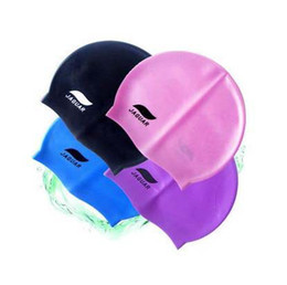 Wholesale Durable Sporty Rubber Silicone Swim Cap Swimming Hat Over12 Years Old Child and Woman and Man Can Use