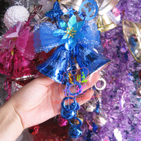 Wholesale 12 cm bell hanging ornament Christmas tree ornaments festival decoration christmas bell sd4