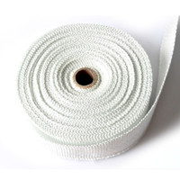 Wholesale Auto Motorcycle Exhaust Pipe Musaceae Cloth Insulation Cotton Cover Refires White