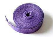 auto heat insulation - Auto Motorcycle Exhaust Pipe Musaceae Cloth Insulation Cotton Cover Refires Purple