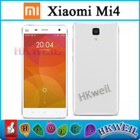 Quad Core Android with WiFi New Brand Original Xiaomi M4 M4 LTE 4G Mobile Phone 3G RAM 16G ROM Snapdragon S801 Quad Core 2.5GHZ 5.0Inch IPS 1920*1080P OTG GPS free ship