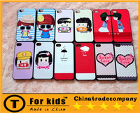 Wholesale cartoon iphone4s s Cell Phone Cases iphone5s Cell Phone Accessoriescoloured drawing or patternCell Phones Bumpers iphone protection shell