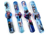 Wholesale Hot Selling Frozen Children Watch With Box Cheap Kids Cartoon Wristwatch best XMAS gift