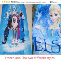 Wholesale D Cartoon Frozen Princess Fashion Printed for quot X130 quot Soft Blanket Cool refreshing comfortable Blanket