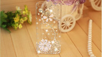 Wholesale hot sale Rhinestone Case For Apple Iphone s Iphone s New Arrival Crystal Diamond Hard Back Skin Mobile phone Case Protective Shell