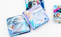 Wholesale Frozen notebooks multi style cm anna elsa princess cartoon cover Memo Pad kids new term gifts school supplies pocket book