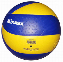 Wholesale MIKASA Volleyball MVA PU Soft Touch Offical Ball Pro Model CH